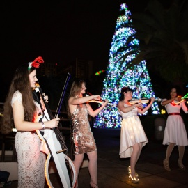 Lake Eola Holiday Violectric Concert