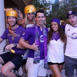 Orlando City Soccer Pregame Block Party