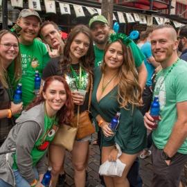Wall St. Plaza: St. Patrick's Day Bloclk Party
