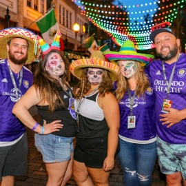 Wall St. Plaza: Sort Of Cinco Block Party