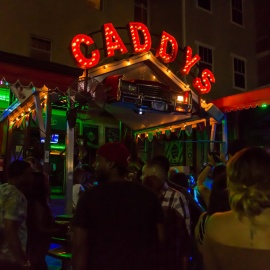 Caddys on Central: First Friday