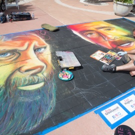 Chalk Art Walk