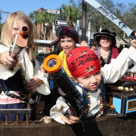 Gasparilla Childrens Parade