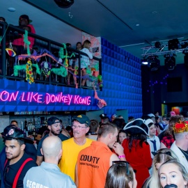 Tampa's Halloween Bar Crawl
