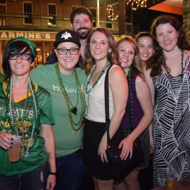 Gaspars Grotto  St Patty Party