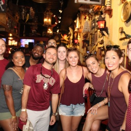 FSU Block Party - Gaspars Grotto