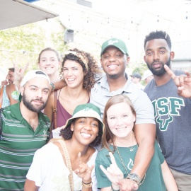 USF Block Party 2017 - Gaspars Grotto