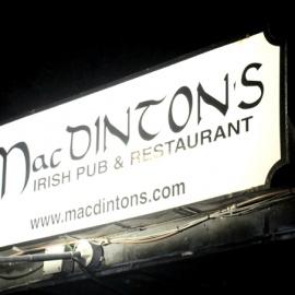 MacDintons: Saturday Night