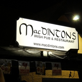 Macdintons saturday night