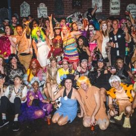 Peabody's Costume Party