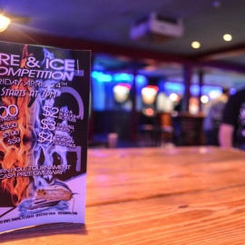 PJs Sports Bar  Grill: Fire & Ice
