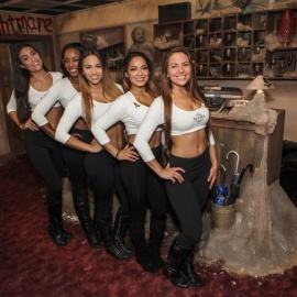 Seminole Hard Rock Girls at Howl-O-Scream