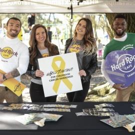 Seminole Hard Rock: Cure Search Heroes Unite