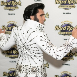 Seminole Hard Rock - Elvis Performance
