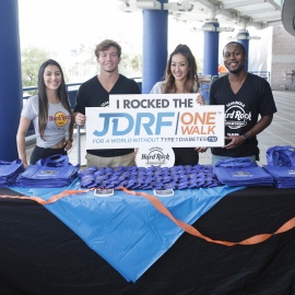 Seminole Hard Rock - JDRF One Walk