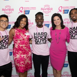 Hard Rock : Making Strides Kickoff