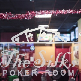 Silks Poker Room - Christmas Eve 2017