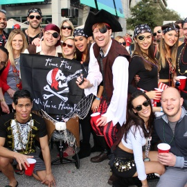 Gasparilla Pirate Festival: Downtown
