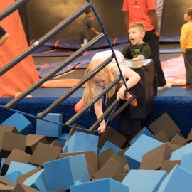 SkyZone Lee's Summit Warrior Weekend Saturday Dec