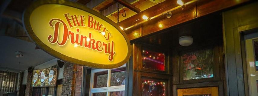Indeed Sarasota Fl >> Five Bucks Drinkery - Bar & Restaurant - Downtown St ...