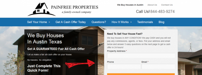 Painfree Properties - Sell House Fast Austin