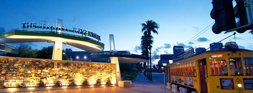 The Tampa Riverwalk
