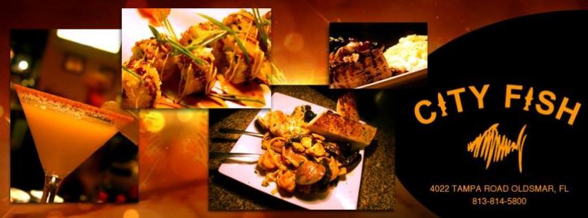 City fish grill bar restaurant palm harbor oldsmar for City fish oldsmar