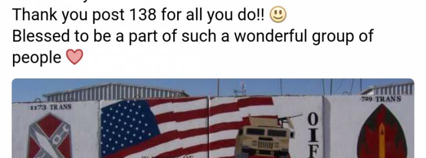 American Legion, Post 138 James Witkowski