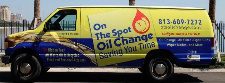 On The Spot Oil Change