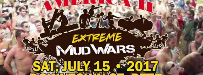 Extreme Mud Wars Recreation Downtown St Petersburg
