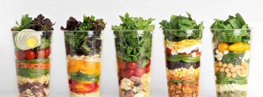 Stacked Sally Organic Salads
