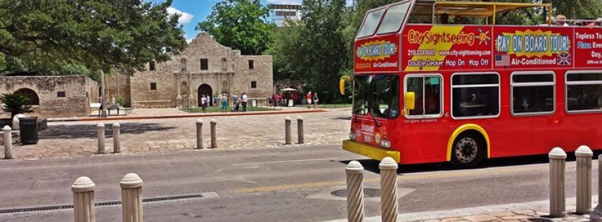 City Sightseeing Hop-On Hop-Off San Antonio