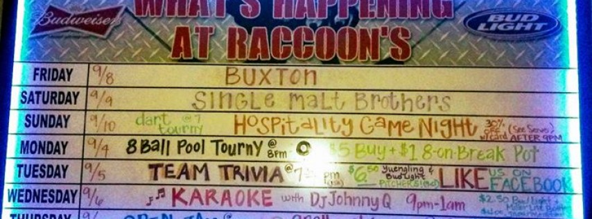 Raccoons Bar and Grill