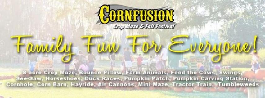 Smith Farms Halloween CornFusion Maze
