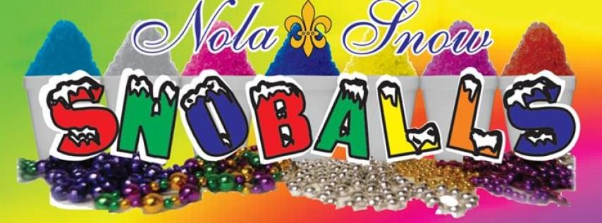 Nola Snow Snoballs Ice Cream & more