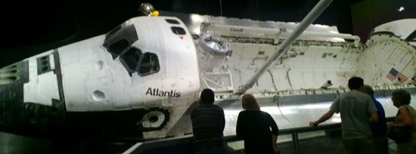 Atlantis Exhibit-Kennedy Space Center