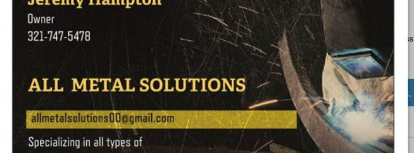 All metal solutions mobile welding and fabrications