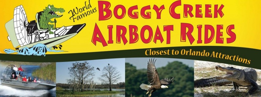 Boggy Creek Airboat Rides - Recreation - Kissimmee - Kissimmee