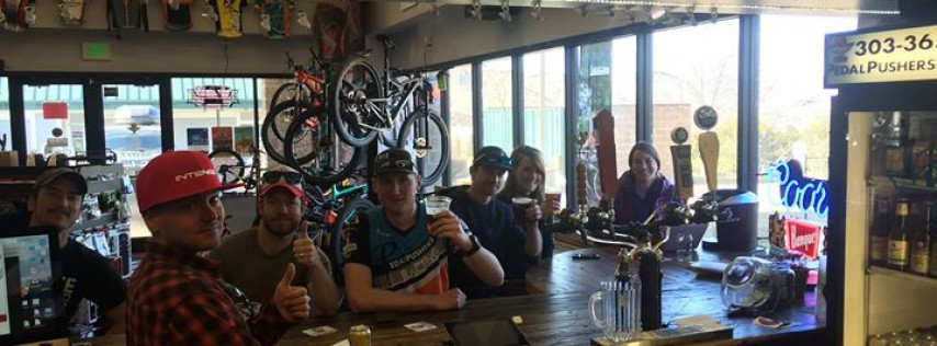 Bikes & Beers at Pedal Pushers Cyclery