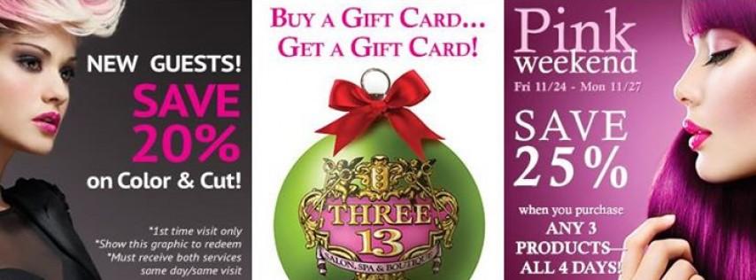 Three-13 Salon, Spa & Boutique