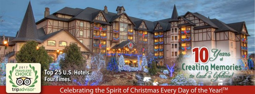 the inn at christmas place travel pigeon forge pigeon forge