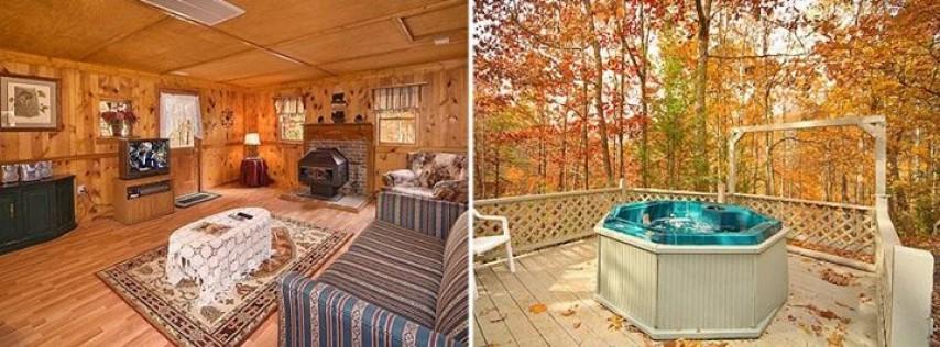 Heavenly Hideaway Cabin Rental