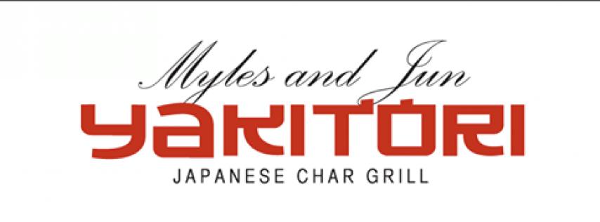 Myles and Jun Yakitori