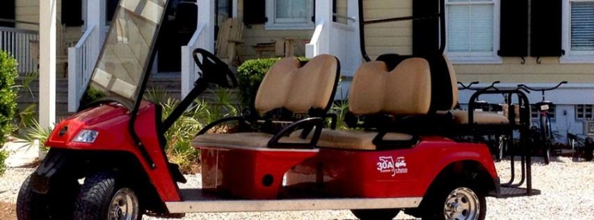 30A Custom Golf Cart Rentals