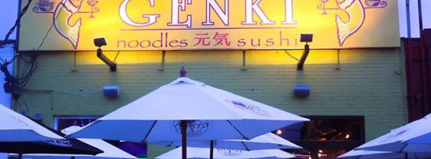 Genki Noodles and Sushi