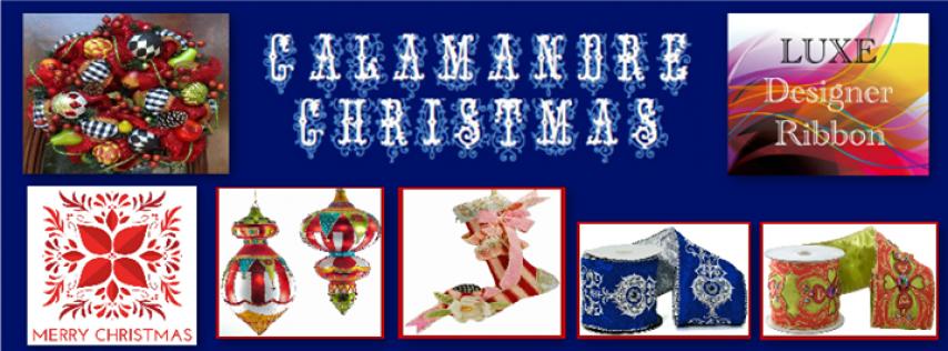 Calamandre Christmas - Wreaths, Ribbon, Decor & More