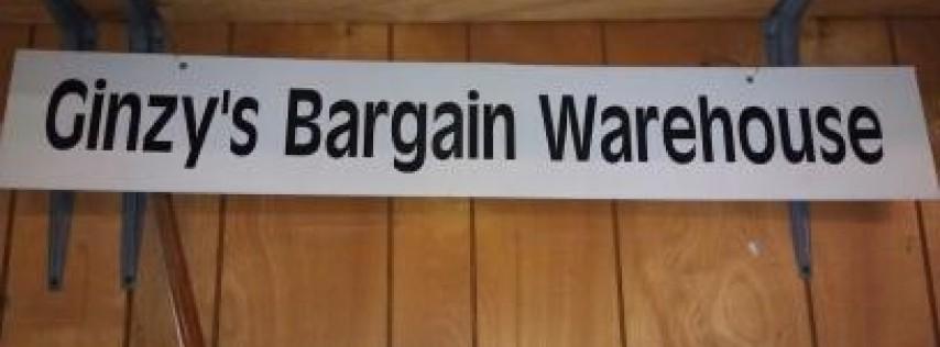 Ginzys bargain warehouse.