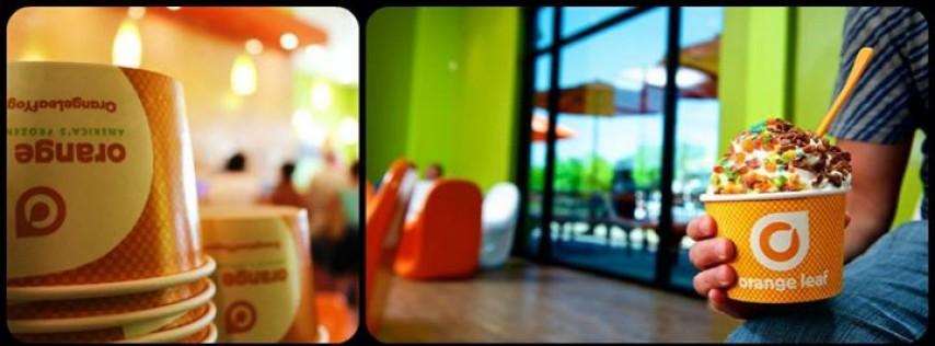 Orange Leaf Frozen Yogurt - Forum Shops
