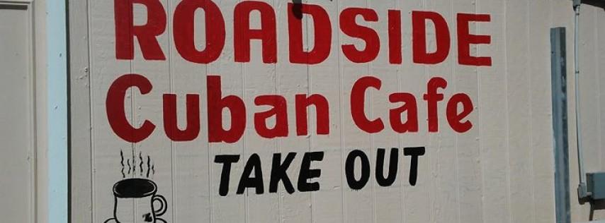 Roadside cuban cafe