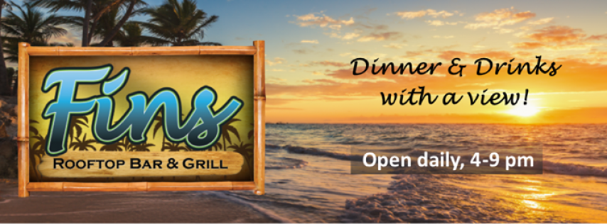 Fins Rooftop Bar & Grill